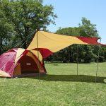 わが家のテント、タフワイドドームⅣ